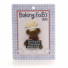 Boyds Bears Resin CHEF MAGNET 2013 CLUB Polyresin Teddy Bear Friendship 0201322