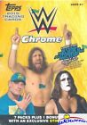 2015 Topps CHROME WWE EXCLUSIVE Factory Sealed Blaster Box- Tough to Find! HOT!