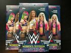 2018 Topps WWE Women's Division Hobby Box Lot (3) 2 Hits Per Box w Auto!