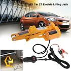 2 Ton 12V Auto Electric Jacks Lifting Tire Change Car SUV Repair Tool Kit + Case