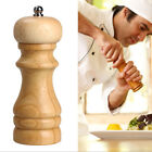Cooking Tools Kitchen Salt And Pepper Grinder Movement Oak Wood Hand Mill Pepper