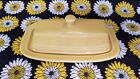 Fiestaware Homer Laughlin Sunflower? Yellow Covered Butter Dish Discontinued