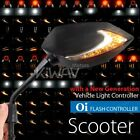 Mirror Lucifer LED neat stem Flasher Rate Control Relay scooter 50cc 90cc 150cc