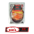 HEL Performance Steel Braided Brake Line for Honda ANF125i Innova 2003-2009