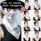 Womens Reusable Face Mask Cover Scarf Washable Summer Outdoor Sun Protection