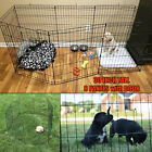 Puppy Pen Dog Playpen 8 Panel 30 Inch Tall Kennel Folding Fence Indoor Outdoor