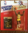 1988 James Worthy Los Angeles Lakers Starting Lineup w/ Special Basketball Card