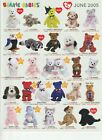 TY  Beanie Babies Bear Collection  BABY Holy Father for Pope Paul II 11/26/1979