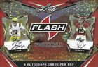 2020 Leaf FLASH FOOTBALL Card Hobby Box = 5 Autos Box