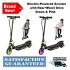 Electric Powered Scooter With Rear Wheel Drive 80 Min Run Time 10 MPH Razor Ride