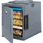 Cambro Ultra Insulated Food Carrier Hot Box Lockable Granite Gray Upc400sp