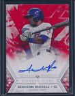 2018 TOPPS DIAMOND ADDISON RUSSELL ON CARD AUTO AUTOGRAPH CUBS 3 5 MADE!