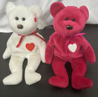 """Ty. Beanie Babies Valentino """". Brown Nose"""" 1993Valentina 1999 *Tags Missing*"""