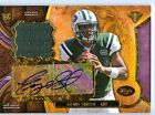 2013 Topps Triple Threads Geno Smith Auto Gold Rookie Patch Card #'d 75 - Jets