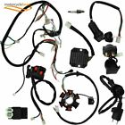 9Pcs Electric Wiring Harness Kit Magneto Stator for GY6 125cc 150cc Quad Scooter