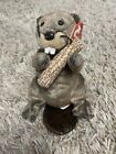 TY Beanie Baby Lumberjack The Beaver With Tag Retired   DOB: March 22nd, 2003