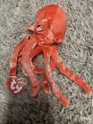 Ty Beanie Baby Wiggly the Squid DOB January 25, 2000 MWMT