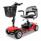 NEW 3 Wheel Mobility Scooter Electric Powered Mobile Wheelchair Device Folding