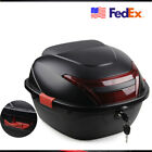 Motorcycle Scooter Top Box Tail Luggage Storage Case 42cm x 39cm x 28.5cm USA