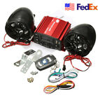 Waterproof USB Motorcycle Audio FM Radio System Stereo MP3 Speaker DC 12V US