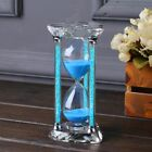 Crystal Glass 60 Minute Diamond Sand Clock Timer Decorative Hourglass Craft Gift