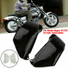 Black Battery Side Fairing Covers fit For Honda Magna VF750 VF750C 1994-2004 ABS