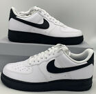 Nike Air Force 1 Low 07 Mens Casual Shoes CK7663 101 White Black