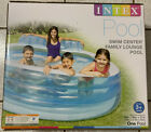 BRAND NEW Intex Swim Center Large Inflatable Family Lounge Pool 90 X 86 X 31