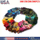 Lot 100-300 Multi Colors Cross Stitch Floss Cotton Thread Embroidery Sewing US
