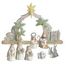 Grasslands Road Gifts of Glory Mini Nativity Scene Resin