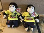 Two Ty Beanie Baby Suntory Sungoliath - Gorilla Japanese Rugby Exclusives