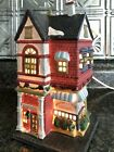 RARE 1991 Vintage Lemax Grocery Lighted Building Christmas Village House Minty
