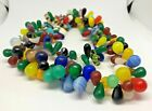 VINTAGE Glass Beads Antique wedding beads Women Round Old