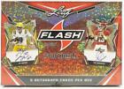 2020 LEAF FLASH FOOTBALL HOBBY EDITION SEALED BOX-5 AUTO'S