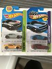 Hot Wheels Lot Of 4 2013 Camaro Special Edition Zamac Silver Yellowred Blue