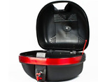 Motorcycle Top Box Motorbike Helmet Luggage Storage Scooter Moped Quad Tail Bag