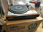 PIONEER PL 530 FULL AUTOMATIC DIRECT DRIVE TURNTABLE W ORIGINAL BOX
