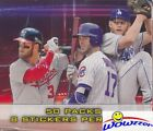 2016 Topps Baseball Stickers MASSIVE Factory Sealed 50 Pack Box-400 Stickers!