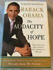 PRESIDENT BARACK OBAMA AUTOGRAPHED The AUDACITY OF HOPE MEMOIR SIGNED IN PERSON