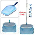 Swimming Pool Cleaning Net Leaf Skimmer 395  Telescopic Pole Spas Clean Tool
