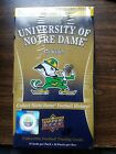 University Of Notre Dame 2013 Upper Deck Collectors Cards Box New Unopened