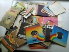 LOT HUNDREDS Vintage Record Label Empty 45 RPM Sleeves 1960s 1970s 1980s