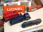 lionel set of trains postlwarlocomotives 556 prewar AC powered vintage