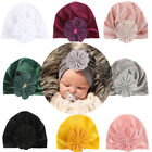 Infant Baby Girl Beanie Hat Hairband Bow Knot Turban Cap Newborn Head Wraps Boy