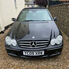 LARGER PHOTOS: Mercedes CLK 200 '09' BLACK CONVERTIBLE AUTOMATIC