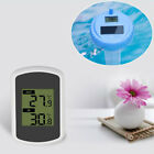 Portable Wireless Pool Thermometer Floating Solar Powered Thermometer for Pool