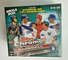 NEW FACTORY SEALED 2017 TOPPS CHROME UPDATE SERIES BASEBALL MEGA BOX
