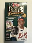 2020 Topps Archives Signature Series Retired Player Edition Baseball Cards 17