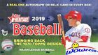 2019 Topps Heritage Baseball Factory Sealed HOBBY Box-AUTOGRAPH RELIC+BOX LOADER