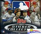 2013 Topps Baseball Stickers MASSIVE FACTORY SEALED 50 Pack Box-400 Stickers!